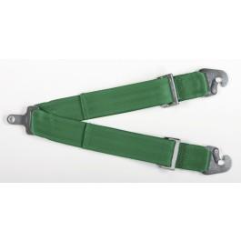 Takata Racing Sub-Strap for RACE Harness (T-Bar) Green