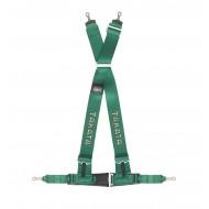 Takata Racing Harness DRIFT III 4-Point Green Bolt-on